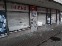 В Запорожье пьяные подростки разгромили музыкальный магазин