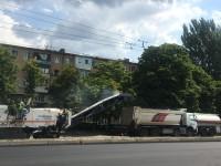 На Победе затеяли масштабный ремонт дороги (Фото)