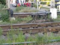 Запорожец пытался покончить жизнь самоубийством прыгнув с железнодорожного моста (Фото)