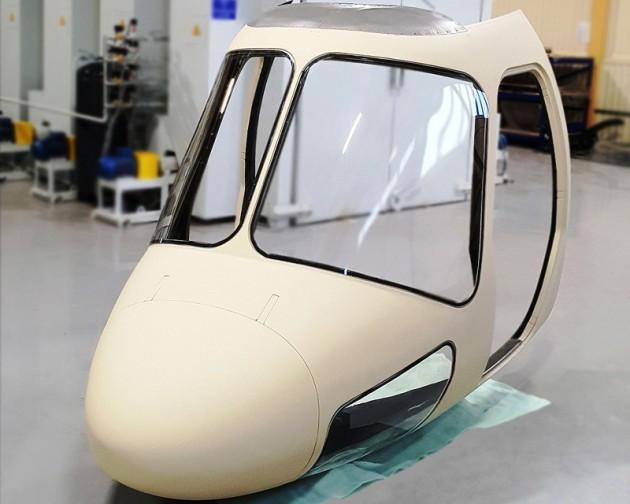 """""""Мотор-Сич"""" заканчивает производство вертолета из композитных деталей"""