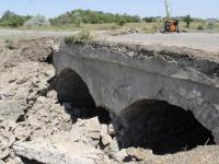 Под Запорожьем разрушается мост – дорогу частично перекрыли