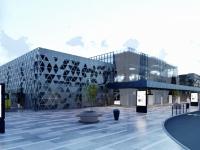 Опубликован виеоролик, как будет выглядеть новый терминал запорожского аэропорта после открытия