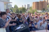 В Энергодаре состоялась многочисленная акция «Достало» – за что критикуют мэра