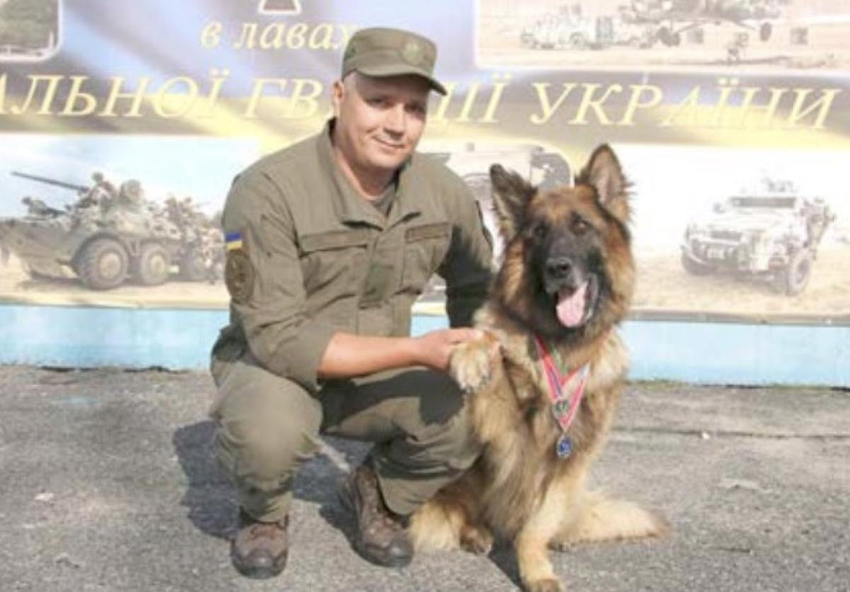 В Запорожской области служебный пес получил награду за раскрытие тяжкого преступления