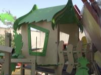 В Энергодаре строят первую площадку для детей с инвалидностью