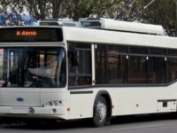 До конца лета в Запорожье закупят еще одну партию троллейбусов с кондиционерами