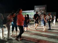 В Васильевке и Бердянске из-за проблем со светом местные вышли перекрывать дорогу