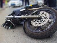 В Запорожье легковушка сбила мотоциклиста и скрылась с места
