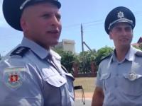 Двоих полицейских, хамивших водителю в Кирилловке, уволили
