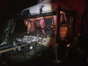 В Запорожской области столкнулись грузовики: полиция рассказала подробности ДТП