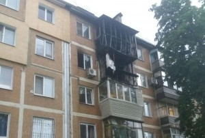 В Шевченковском районе Запорожья мужчина сжег съемную квартиру (Фото)