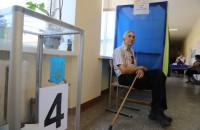 Партия «Слуга народа» набирает более 40% голосов в Запорожской области