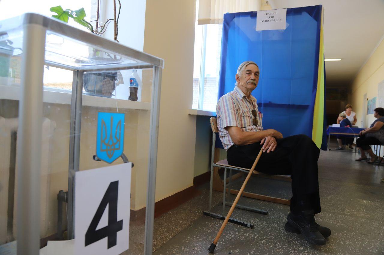 """Партия """"Слуга народа"""" набирает более 40% голосов в Запорожской области"""