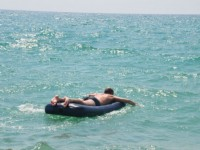 На запорожском курорте пожилого мужчину унесло в открытое море