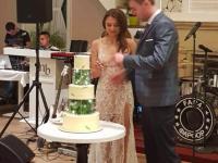 В Запорожье молодоженам подарили на свадьбе корм для бездомных животных