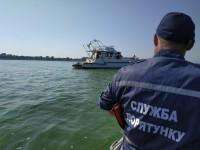 В Запорожской области из-за шторма села на мель яхта