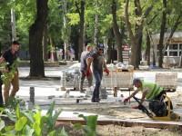 Как продвигаются работы по реконструкции парка на Кичкасе (Фоо)