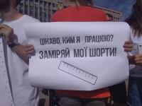 «Мистер светофор»: в Запорожье прошла акция за отставку Марченко – к митингующим никто не вышел (Фото)