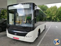 В сети опубликовали фото нового автобуса ЗАЗ, который собирают для Польши
