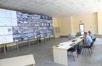 В Запорожье заработала видеостена, на которую выводятся все изображения с камер