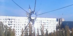 В Запорожской области неизвестный стрелял по окнам многоэтажки