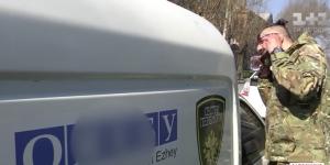 Запорожские волонтеры устроили провокацию для ОБСЕ и сепаратистов (Видео)