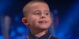 Юный запорожец уделал судью талант-шоу в умении считать (Видео)