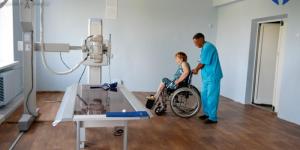 Запорожской областной клинической больнице презентовали высококлассный рентген от лучшего мирового производителя Toshiba