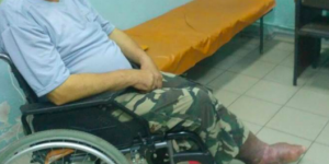 Пожилого запорожца с опухшей ногой не хотели принимать в больницах