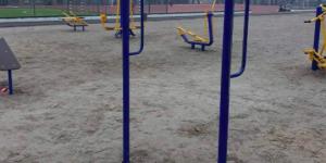 В Запорожье обокрали новую спортплощадку