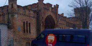 В замке под Запорожьем прошли съемки популярного шоу