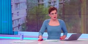 В накренившейся запорожской многоэтажке на ребенка упал шкаф (Видео)