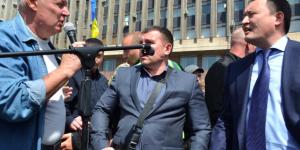 """Запорожский губернатор прислал начальнику райотдела диск с записью, на которой  его публично """"послали"""""""