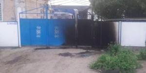 В Запорожской области новоиспеченному директору КП подожгли забор дома