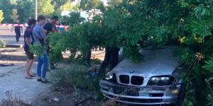 В реанимации скончалась женщина, которую вместе с ребенком сбил на Набережной БМВ (Видео)