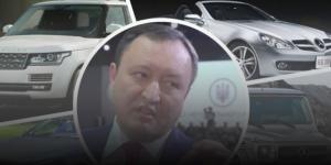 Родственники Брыля оформили на него элитные авто по доверенностям: губернатор врет, что не знал