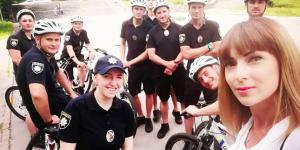 С завтрашнего дня в Запорожье заработает полицейский велопатруль