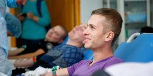 Донорский марафон Запорожской областной больницы только стартовал, а уже бьет  рекорды по сбору крови