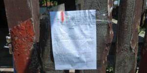 На запорожском курорте демонтируют незаконные торговые точки