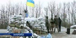 На блокпосту в Запорожской области остановили машину с оружием