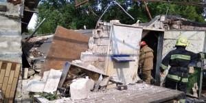 В Запорожье во время взрыва пострадал мужчина (Фото)