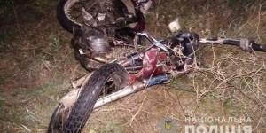 На трассе в Запорожской области мотоцикл попал в ДТП: водитель погиб (Фото)