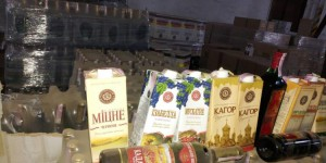 В Запорожье изъяли партию контрафактного вина на 5 миллионов
