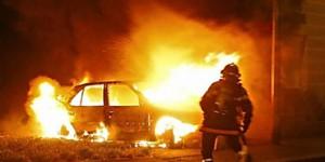 В Запорожье взорвался автомобиль, зацепив соседние