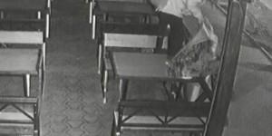 Жительницы Запорожской области пытались сжечь кафе (Видео)