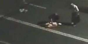 В Мелитополе водитель ночью сбил девушку (Видео)