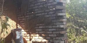 В Запорожье прорвало трубу шламоотвода, снеся стену дома
