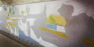 Неугомонный запорожский художник готовит к празднику подарок городу