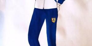 В Запорожье презентовали линию одежды, названной в честь легендарного силача