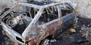 У активиста из Запорожской области, воюющего с местной властью, сгорело авто
